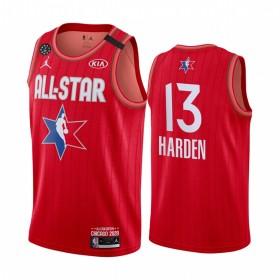 City Edition Maglie da Basket T-Shirt Canotta Canotta Jersey Ricamato S-2XL LXFTK Harden Rockets H-Town # 13 Maglia da Basket per Uomo